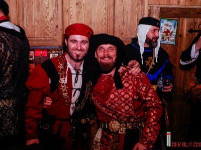 Honesti Monacensis auf der Weihnachtsfeier der Höllensteyner am 09.12.2017